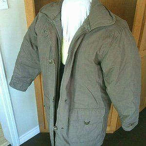 Eddie Bauer Women's Jacket Large Brown Down
